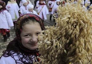 Рождество 2013 - В Запорожье встретили Рождество по казацким обычаям