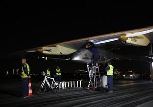 Солнечный самолет отправился в перелет через США