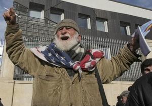 Более 20% грузин подписались за досрочную отставку Саакашвили