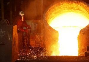Украина увеличила производство стали в 2010 году на 13%