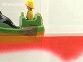 Ученые засняли на видео эффект мертвой воды