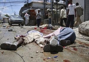 В Сомали прогремел взрыв, погибли десять человек