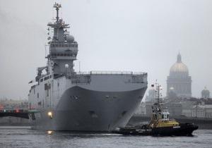 Россия приостановила переговоры по покупке Mistral