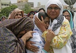 Жертвами беспорядков в Пакистане стали 45 человек