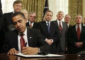 Обама продлил санкции против Ирана, введенные в 1979 году