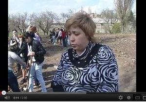 Студентов училища в Донецкой области вместо занятий заставляют подметать улицы