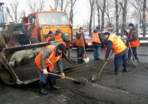 ремонт дорог - Вилкул - В Украине на содержание и ремонт дорог выделяется в 10 раз меньше средств, чем в Европе - Вилкул