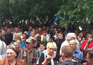 Врадиевка - протесты - Милиционер в Жашкове с поста не уходил, его рапорт не имеет юридической силы - МВД