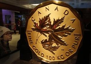 Самая большая золотая монета в мире уйдет с молотка