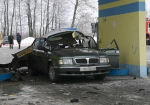 В Полтавской области на заправке взорвался автомобиль. Один человек погиб
