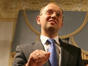 Яценюк: Свадьба БЮТ и ПР закончилась, так и не начавшись