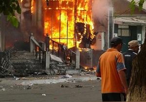 В Оше вновь начались столкновения