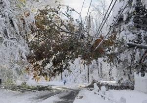Число жертв снегопада в США приближается к 30, более миллиона домов остаются без света