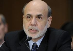 Бернанке: США больше не должны рассчитывать на финпомощь ФРС