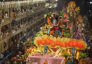 В Бразилии стартовал карнавал в Рио-де-Жанейро