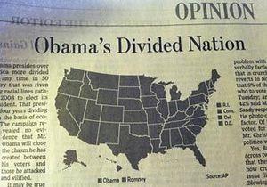 Одна из главных газет Америки назвала Обаму победителем во всех штатах