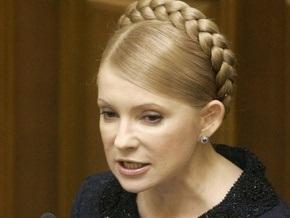Тимошенко обвиняет участников конкурса по ОПЗ в сговоре