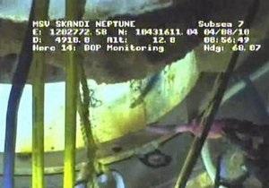 BP: Цементная пробка на скважине выдержала испытания