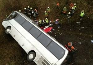 ДТП в Бельгии: Полиция предполагает, что водитель автобуса уснул за рулем