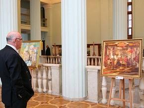 В киевской мэрии открылась выставка современных украинских художников