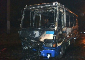 Во Львовской области столкнулись и загорелись маршрутка и автомобиль ВАЗ