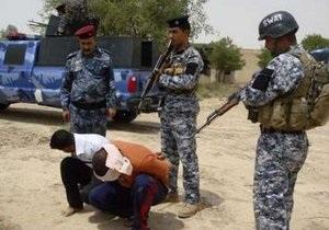 Полицейским Ирака не хватает оружия для самозащиты