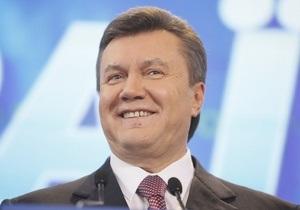 Янукович: Украина должна стать великим морским государством
