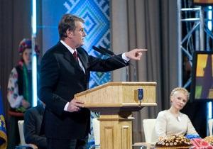 Ющенко: Победа Тимошенко приведет Украину к катастрофе