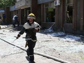 На месте взрыва в Мелитополе нашли взрывное устройство и оружие