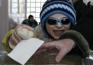 Выборы-2010: в Москве проголосовало 2,5 тысячи человек