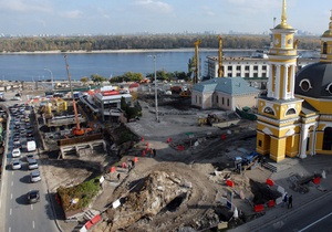 Попов: Реконструкция Почтовой площади идет по графику