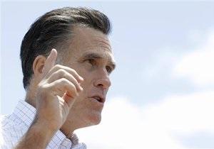 Ромни обвиняет Обаму в попытке посеять раздор в обществе