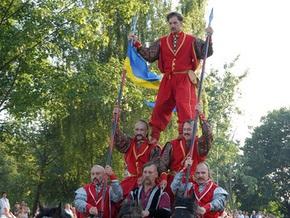 В Украине покажут гетманский флаг из Кремля