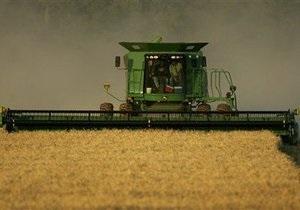 Украина сохранит пошлины на экспорт зерна до конца года