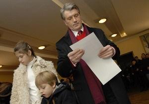 В штабе Ющенко отказываются комментировать результаты экзит-поллов