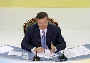 В годовщину инаугурации Янукович примет участие в телепроекте Разговор со страной