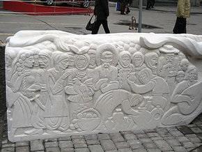 В Полтаве открыли Аллею Гоголевских героев