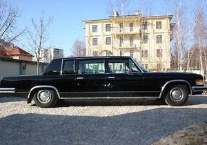 Автомобиль Щербицкого продается за $280 тысяч
