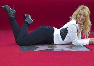 Шакира удостоилась звезды на Аллее славы в Голливуде