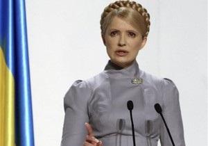 Тимошенко: Сдать в управление ГТС - все равно, что сдать в управление Украину