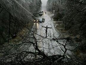 В США шторм оставил без электричества более миллиона домов