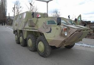 Украина в мае поставит Египту первую партию модернизированных БТР