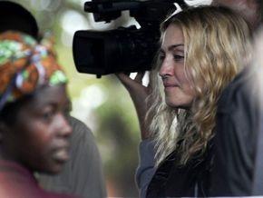 В Киеве покажут фильм Мадонны