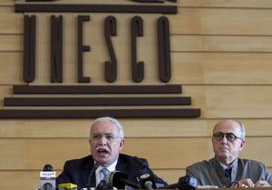 Глава МИД Палестины Риад аль-Малики и представитель Палестины в ЮНЕСКО, историк Элиас Санбар