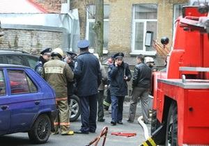 В Киеве произошел пожар в общежитии, один человек госпитализирован