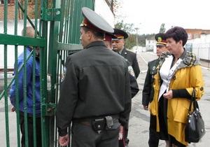 Юрия Луценко в колонии посетила омбудсмен