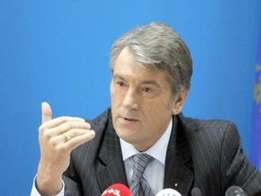 Ющенко воодушевлен решением НАТО по Украине