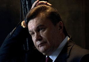 Янукович прокомментировал резолюцию Европарламента