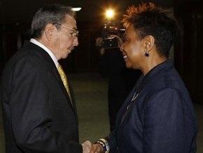 Рауль Кастро впервые встретился с делегацией из США