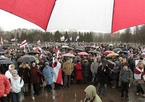Минск: День воли прошел без задержаний, но не без провокации